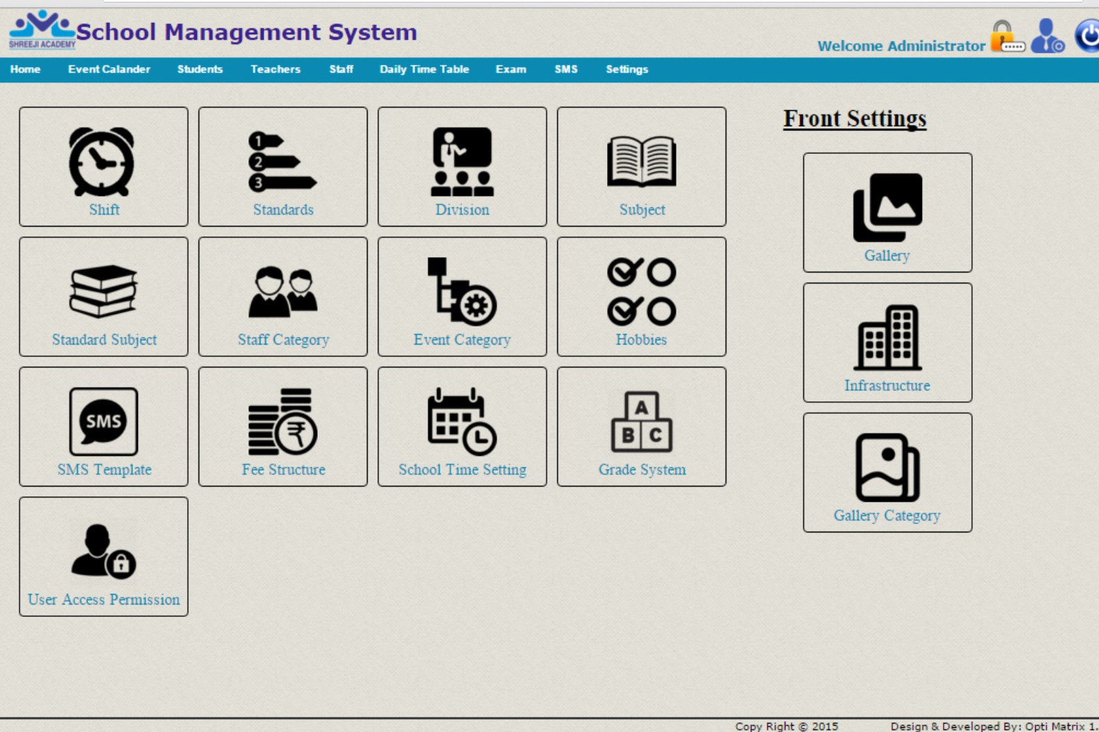 School Management Software System India | Attendance