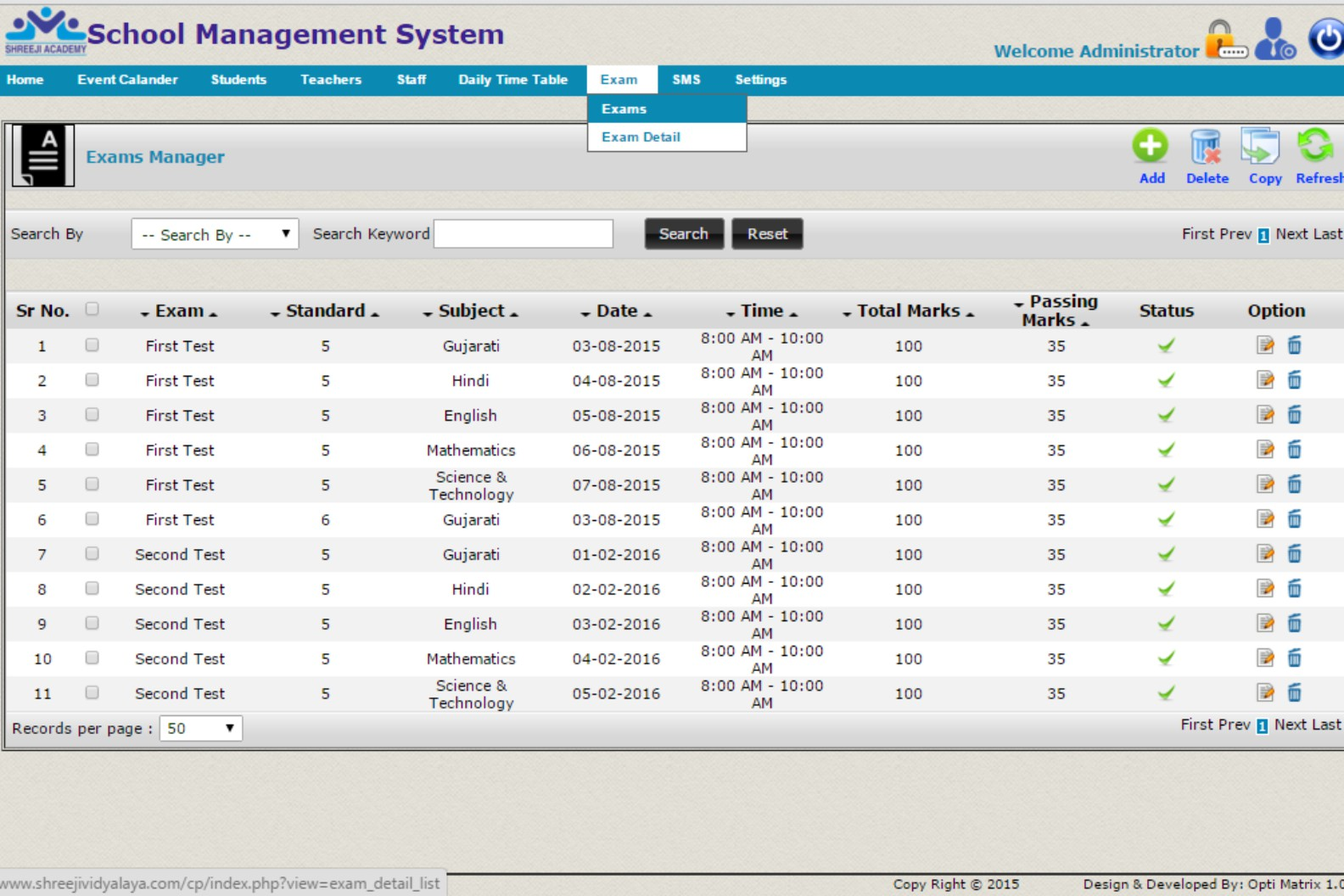 School Management Software System India | Attendance Management System